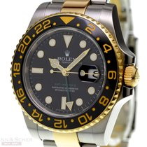 Rolex GMT Master II Ref-116713LN 18k Yellow Gold/ Stainless...