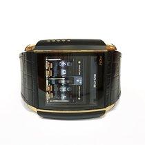 "HD3 ""SLYDE"" Touchscreen Dial - Rose Gold & Steel Full Black PVD"