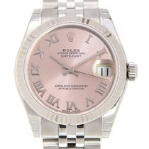 勞力士 (Rolex) Lady Datejust 18k Gold Steel Pink Automatic...