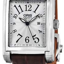 Oris Rectangular 56176564061LS new