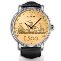 Corum Oro/Acciaio 31,80mm Automatico Coin Watch nuovo Italia, Foggia