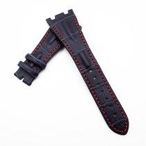 愛彼 28mm AP Style Dark Blue Calf Leather Watch Band Replacement...