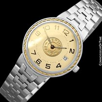 Hermès Sellier Gold/Steel 32mm Gold Arabic numerals United States of America, Georgia, Suwanee