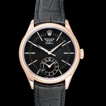 Rolex Cellini Dual Time Rose gold