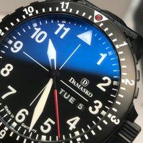 Damasko Black DA46 Day Date Swiss ETA 2836-2 42mm Red Seconds...