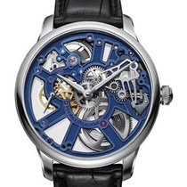 Maurice Lacroix Masterpiece Squelette Steel 43mm Blue