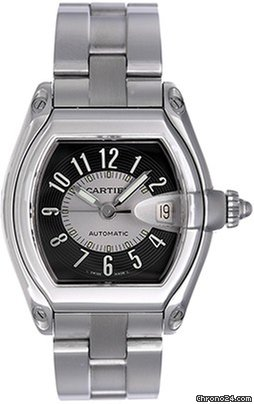 105be254d35 Cartier Roadster Men s Stainless Steel Watch W62041V3 for S  5