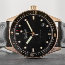 Blancpain Fifty Fathoms Bathyscaphe new 43mm Rose gold