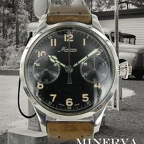 Minerva Acero 46mm Cuerda manual usados