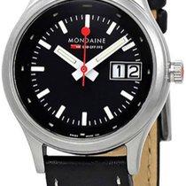 Mondaine Quartz new Black