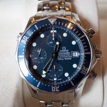 Omega Seamaster Diver 300 M Acero 41.5mm Azul Sin cifras