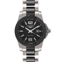 Longines Conquest Steel 29.5mm Black United States of America, New Jersey, Cresskill