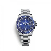 Rolex White gold Automatic Blue 40mm new Submariner Date