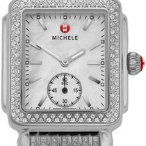 Michele Steel 29mm Quartz MWW06V000041 new
