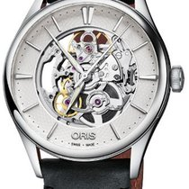 Oris Artelier Skeleton 01 734 7721 4051-07 5 21 34FC 2019 new