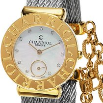 Charriol St-Tropez new Quartz Watch with original box and original papers ST30CY1.560.022