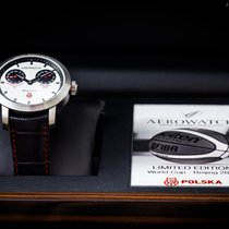 Aerowatch Renaissance Steel 44mm Silver No numerals