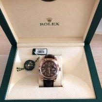 Rolex Sky-Dweller Ροζέ χρυσό 42mm Καφέ Ελλάδα, Ekali