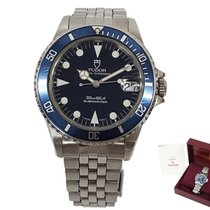 Tudor pre-owned Automatic 36mm Blue Sapphire Glass