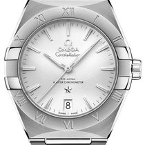 Omega Constellation Staal 36mm Zilver