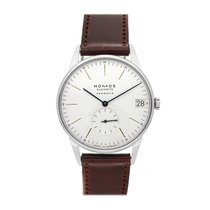 NOMOS Orion Neomatik Steel 40.5mm White No numerals