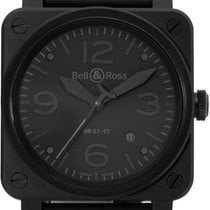 Bell & Ross BR 03 BR03-92-S 2012 pre-owned