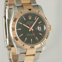 Rolex Datejust Turn-O-Graph Gold/Stahl 36mm Schwarz Deutschland, Heilbronn