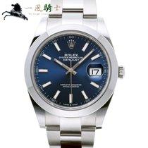 Rolex Datejust Acciaio 41mm Blu