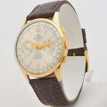 Pryngeps Yellow gold 37,5mm Manual winding pre-owned