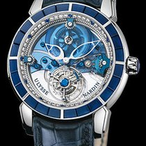 Ulysse Nardin Royal Blue Tourbillon Platinum 43mm Blue