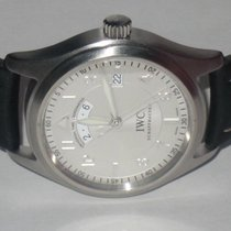 IWC Pilot Spitfire UTC Steel 40mm Silver Arabic numerals United States of America, New York, Greenvale