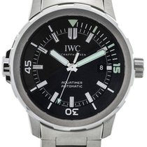 IWC Aquatimer 42mm Steel Black Dial