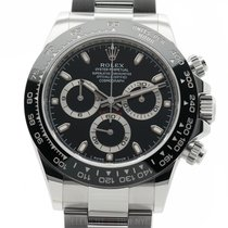 Rolex Daytona Ceramic Bezel Stainless Steel Black Dial