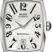 Mido Woman's Watch Tonneau White Ref. M0031071111200
