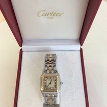 Cartier Panthere mid size gold and steel