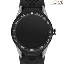 TAG Heuer Men's Carrera Connected modular black strap