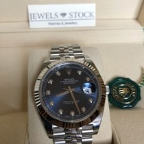 Rolex Datejust Oystersteel and White Gold Diamonds