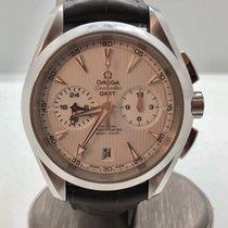 Omega Seamaster Aqua Terra Chronograph GMT unworn Full Set