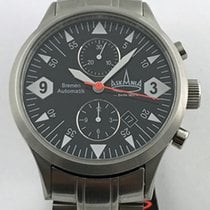 Askania Steel 43mm Automatic Bremen new