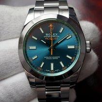Rolex Milgauss 116400GV Z Blue Dial