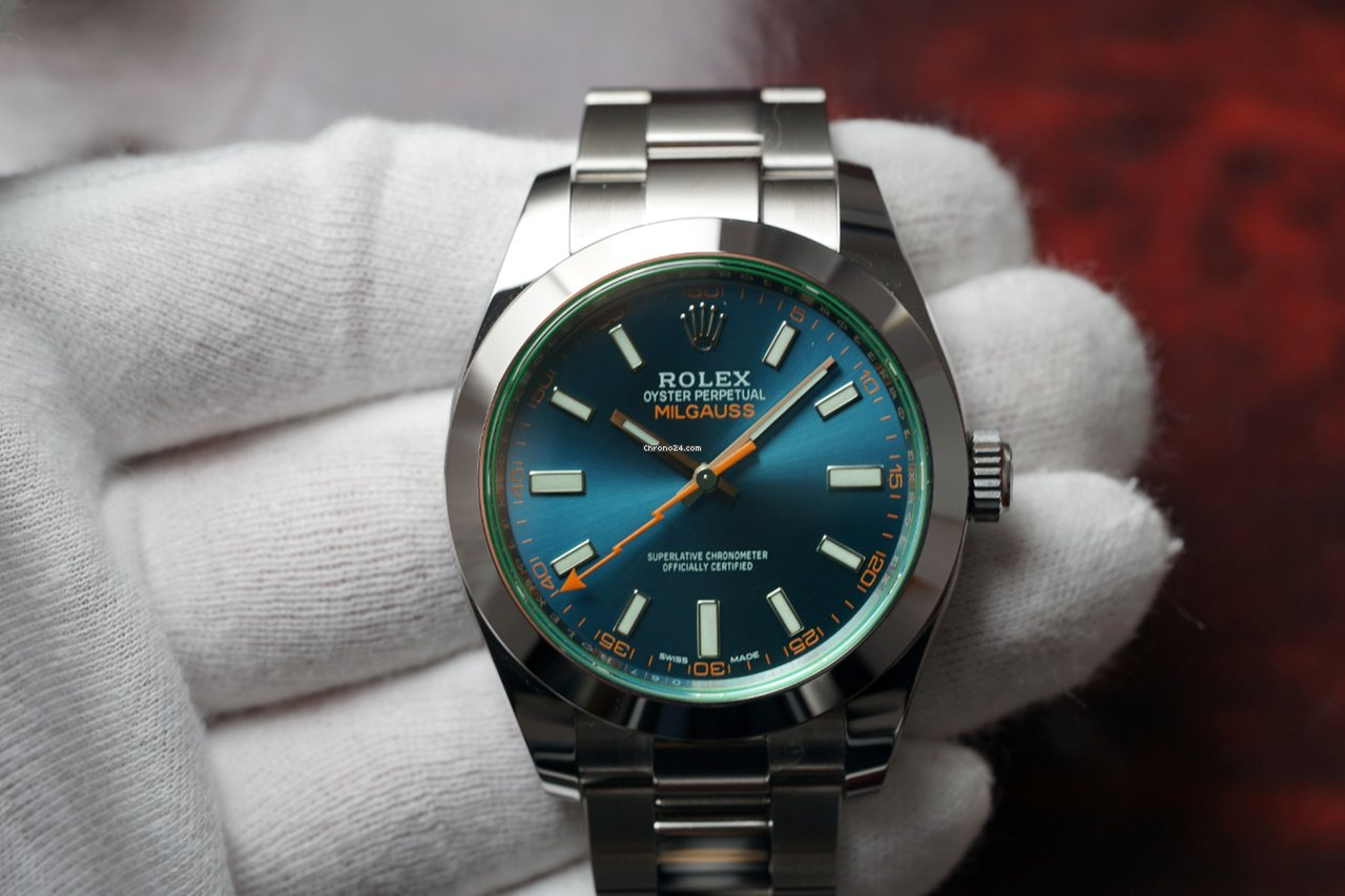 Rolex Oyster Milgauss m116400gv-0001