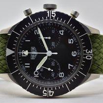 Heuer Bund Bundeswehr Chronograph Flyback