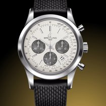 Breitling AB015212.G724.278S.A20S.1 Steel 2019 Transocean Chronograph 43mm new