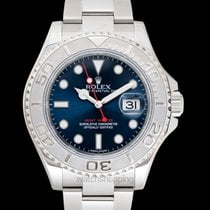 Rolex Yacht-Master 40 Platinum 40mm Blue