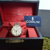 Corum Chronograph 44mm Automatik Admiral's Cup (submodel) Weiß