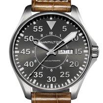 Hamilton Khaki Pilot Day Date Steel 46mm Grey