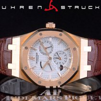 Audemars Piguet Royal Oak Dual Time подержанные 39mm Pозовое золото