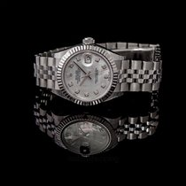 Rolex Lady-Datejust Or blanc 28mm Nacre