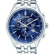 Citizen Steel 42mm Quartz AT2141-52L new