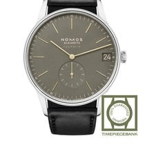 NOMOS Orion Neomatik Steel 40.5mm Green